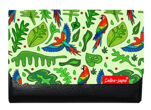 Selina-Jayne Parrots Limited Edition Designer Small Purse